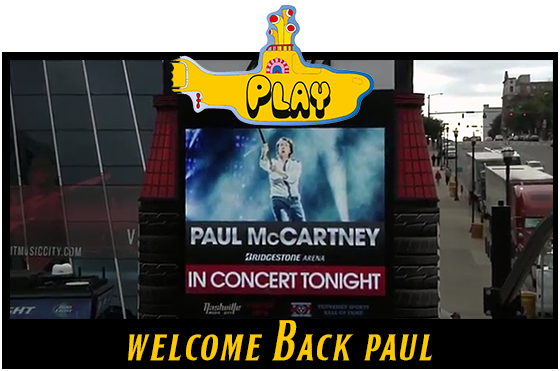 Welcome Back Paul McCartney - The WannaBeatles